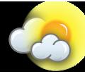 Nuvens com abertas